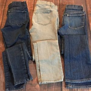 Girls Old Navy jeans Set of 3 pairs